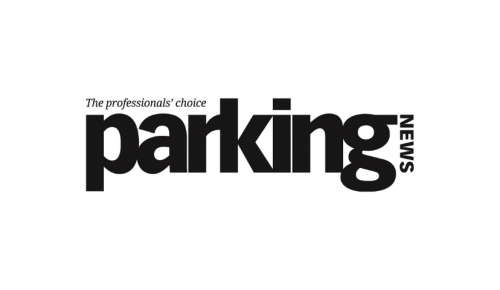 Parking News magazine logo on white background