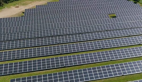 image of solar panel farm funded by PPA