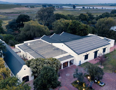 Photo of spier wine estate building